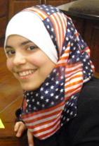 American Flag Hijab